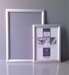 Customized slim aluminum snap poster frames for advertising