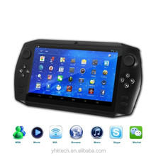 "7"" touch screen Quad core Android wifi best console game in China"