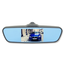 Auto dimming navigation rearview mirror, android rearview mirror with gps bluetooth 2 camera