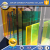 advertising good quality unbreakable translucent acrylic plate