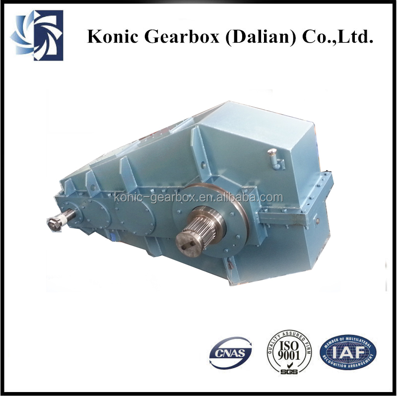 High speed electric motor helical gear reducer made in for Speed reducers for electric motors