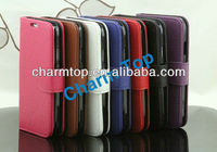Litchi Leather Stand Case For Samsung Galaxy S4 i9500
