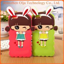 Olja South Korea Silicone Cartoon Case For IPhone 5, Case For IPhone5, For Case IPhone 5 Silicone Lovely Girl