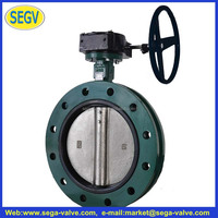 DN40-1200 Wafer Lug U and Flanged type PN10/16 Butterfly Valve