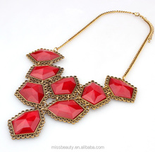 Antique statement necklace imitation jewellery pictures