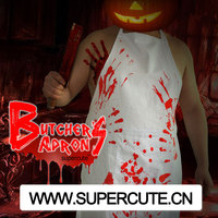 2014 Halloween wholesale personalized China butcher apron