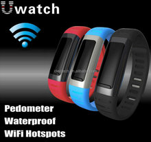 2015 new product! Waterproof Wifi android smart watch phone fit for iPhone 5 and Samsung Galaxy S6