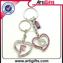 New fashion wholesale custom alphabet letters key chain