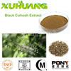 GMP factory supply black cohosh natural black cohosh extract powder/black cohosh p.e
