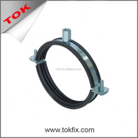 Steel Standard wall mount pipe clamp