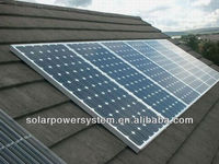 High efficiency 1000w 1000VA 1000 watt 1KW solar system with CE certification