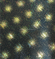 Hot!! Holographic Fireworks Pattern Gift Wrapping Paper, Gift Wrap, Roll wrap