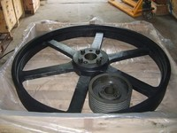 industrial steel sliding gate guide pulleys,Nonstandard Casting Iron Sheave Pulley,V - Belt Pulley / V Belt Pulleys for Sale