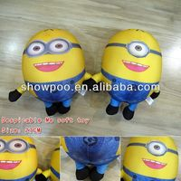 Smiling Hot Despicable Me Plush(27cm,price for 1 piece,random selection)Wholesale Fashion Anime Cos Hot and New Style
