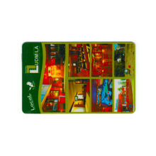 Customized PVC Hotel and Restaurant Key Card, Magnetic Stripe Card