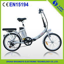Aluminum alloy 36V250W folding e bike factory price