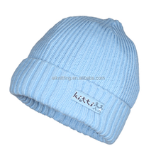 Newborn baby winter hats with supper soft acrylic