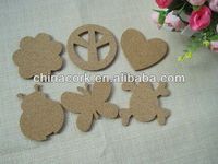 Animal pattern cork message board