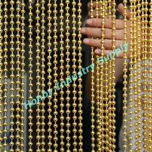 Golden Ball Chain Hanging Fashion Designs Latest Curtain