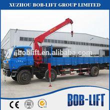 China marca de fábrica famosa 6.3t grúa hidráulica usados de Straight-arm el fabricante de grúas para la venta SQ6.3SA2