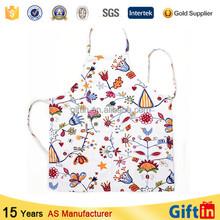 New 2015 high quality printing Custom Cheap Price kitchen painter apron