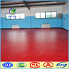 Red color Sports plastic durable pvc floor mat roll