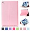 Fancy Color folio folding flip Leather Case for iPad Mini 4, for ipad mini smart cover with sleep funciton