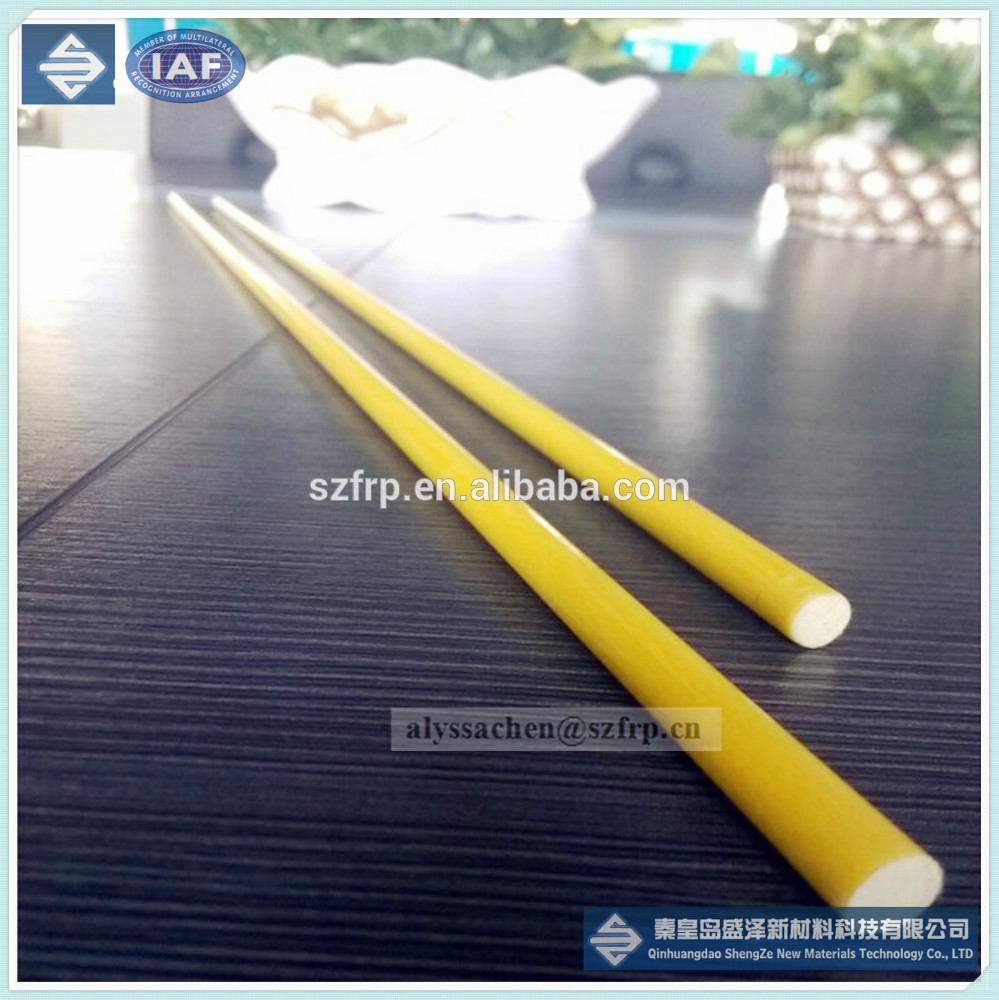 Durable de fibra de vidrio varilla de alta resistencia y - Varillas fibra de vidrio ...