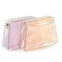 Whimsical Clear PVC Zip Lock Beach Bag