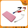 portable mobile phone battery charger cell phone charger car jump starter 5400mah