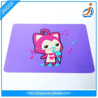 Color and cartoon cheap popular gaming mouse mat