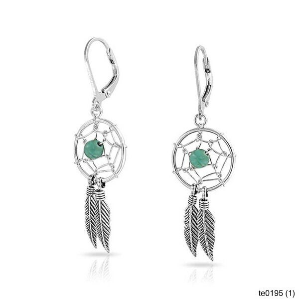 Fashion jewelry silver color synthetic turquoise dream for Turquoise colored fashion jewelry