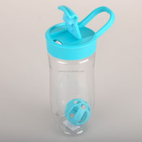 700ml plastic Protein Shaker Bottle with shaking ball