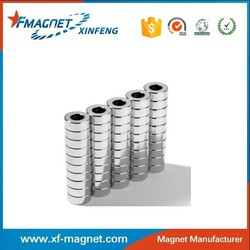 Famous Speaker Magnet Factory Neodymium Ring N35 Magnet Supplier