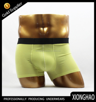 Big factory direct wholesale trendy solid color man underpants for Europe market