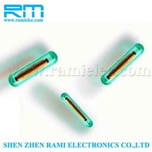 New Products ISO11784/ISO11785 RFID glass transponder tag for animal identification with factory pricce made in china