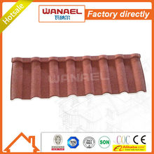 Wanael hail-resistance lightweight stone-coated metal roof tile/concrete roof tiles molds