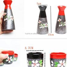 export Japan hand-painted cherry cocktail set ceramic saki cup pot