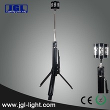Heavy duty LED outdoor lights RLS839 LED tripod Scene Light led rechargeable torch