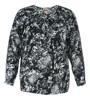 100% cotton ladies t shirt round-neck long sleeves, plus size,OEM/ODM manufacturer in guangzhou