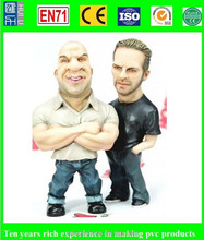 6 inch pvc realistic action figure, make action figure factory price, eco-friendly plastic action figure