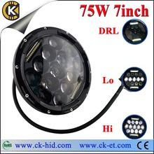 7 inch high illumination best quality wrangler jeep led headlight