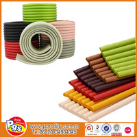 Hot sell products table rubber edging / sharp edge rubber / rubber edge banding for furniture
