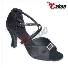 New button diamond clinch leopard upper dance shoes manufacturers china ballroom latin dance shoes