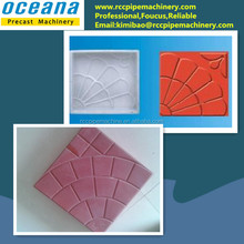 Lowest cost! Pracast Plastic mold for concrete paver