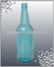 botella de vidrio de la decoración