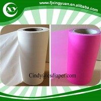 Cast pe film back sheet for sanitary napkin underpad