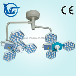 Double domes led operation shadowless surgical lamp