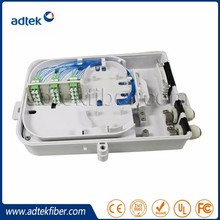 Stocks Promotion 24 Cores FTTH box with SM Fiber LCAPC Pigtails and Adapters