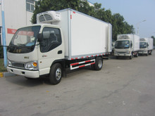 JAC 3-3.5Tons thermo king refrigerated van for sale/delivery vans for sale /small delivery van for cheese,milk and vegetable